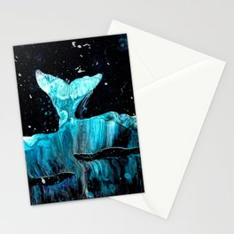 Whale of a Tail Stationery Cards