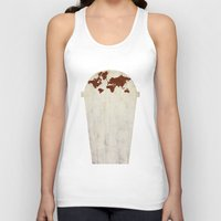 coffee Tank Tops featuring Coffee by gunberk