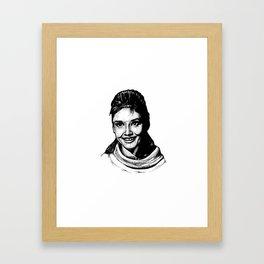 Audrey Hepburn Framed Art Print