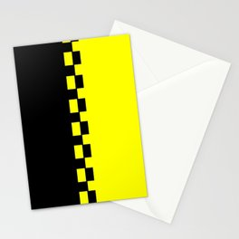 Yellow & Black Stationery Cards
