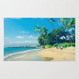 Kamehameha Iki Park Beach Lāhainā Maui Hawaii Rug