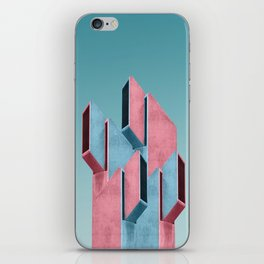 Acid pink iPhone Skin