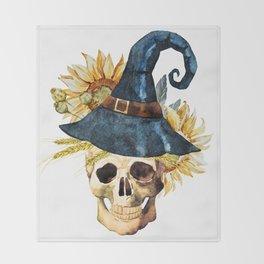 Skull 05 Throw Blanket