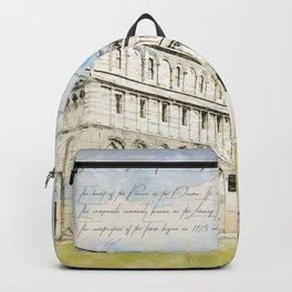 Piazza dei Miracoli Backpack