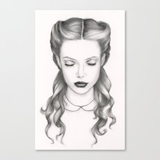 white victorian Canvas Print