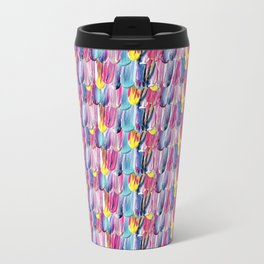 Brushstroke Fortunes I (Abstract Painting) Travel Mug
