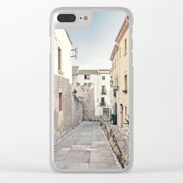 Empty Street Clear iPhone Case