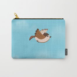 Little Flying Sparrow Carry-All Pouch