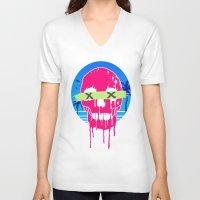 the xx V-neck T-shirts featuring XX by MU Art