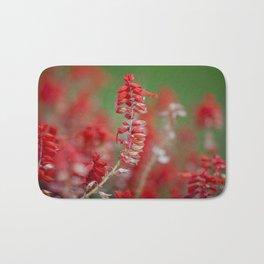 Red Bath Mat