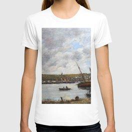 12,000pixel-500dpi - Eugene Louis Boudin - Camaret Harbor - Digital Remastered Edition T-shirt