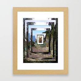 Terraforms 001 Framed Art Print