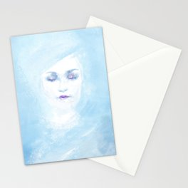Hail to the winter Stationery Cards