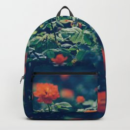 Twilight Roses - Moody Florals Backpack