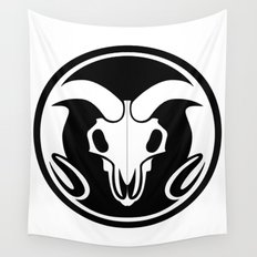 Day of the Ram Wall Tapestry