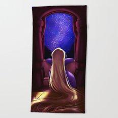 Rapunzel - Tangled Beach Towel