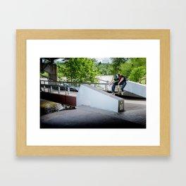 Raymond Hertz- Crook Framed Art Print