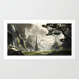 The Needle Art Print
