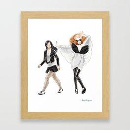 Fashion Journal: Day 3 Framed Art Print