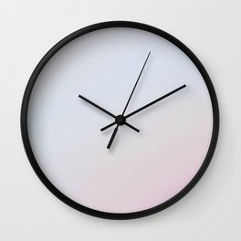 Blue Pink Ombre by J.Avery Design Wall Clock
