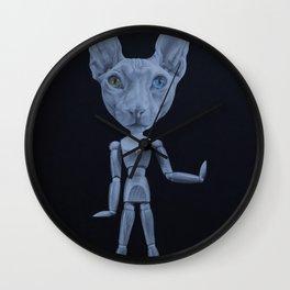 Cat Walk Like An Egyptian Wall Clock