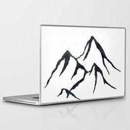 MOUNTAINS Black and White Laptop & iPad Skin
