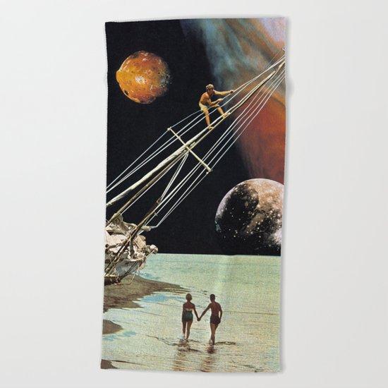 Set Sail for the Stars Beach Towel