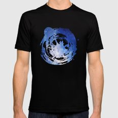 The Universe Calling Black MEDIUM Mens Fitted Tee
