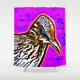 Pop Art Roadrunner No. 1 Shower Curtain