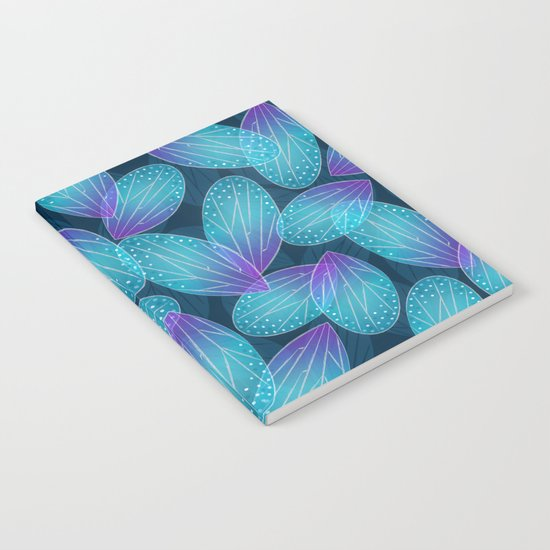 Water Fairy Wings Notebook