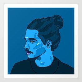 Azul Art Print