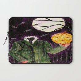 Headless painting by Karen Chapman Laptop Sleeve