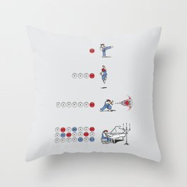 The Ultimate Combo Throw Pillow