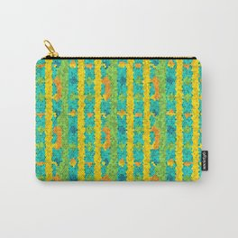 Mosaic Pattern Carry-All Pouch