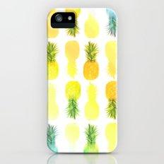 Pineapple Glow Slim Case iPhone (5, 5s)
