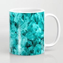Sparkling Aqua Amethyst Coffee Mug