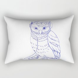 music-owl Rectangular Pillow
