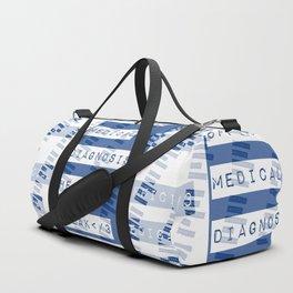 HEART</3BREAK blue Duffle Bag