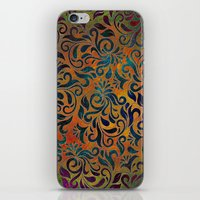 antique iPhone & iPod Skins featuring ANTIQUE PATTERN by Klara Acel