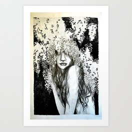 Wysteria Art Print