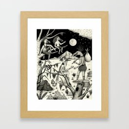 Welcomed Into the Fold By Other Strange Birds Framed Art Print