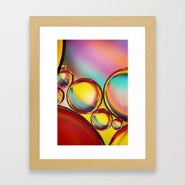 H20 & Oil III Framed Art Print
