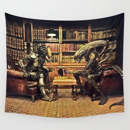 Alien V Predator Wall Tapestry
