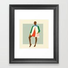Fashion Dance 2 Framed Art Print