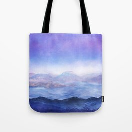 The Mountains Tote Bag