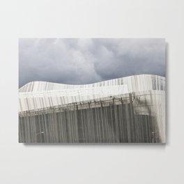 Waterfront Building Metal Print