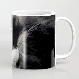Black and White Cat Coffee Mug