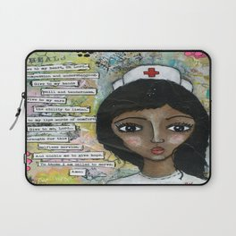 Nurse - African American  Laptop Sleeve