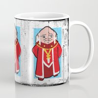 dungeons and dragons Mugs featuring DUNGEONS & DRAGONS - DUNGEON MASTER by Zorio