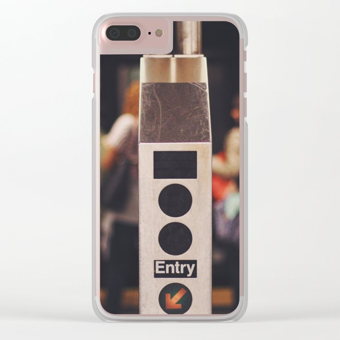 Turnstyle - NYC Clear iPhone Case